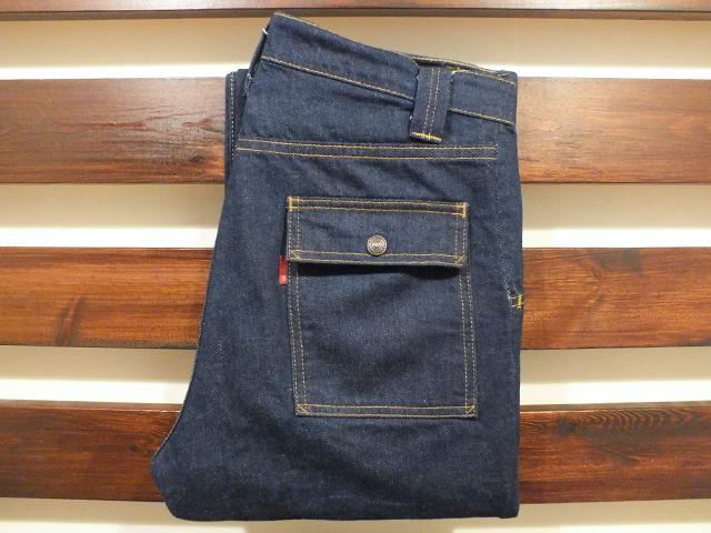 【送料無料】別注 70's BUSH PANTS INDIGO