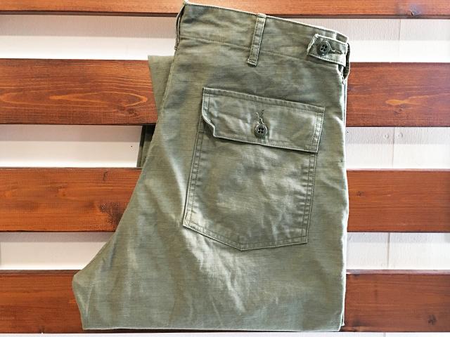 【送料無料】TCB jeans 50's BAKER PANTS OLIVE