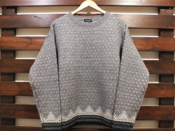 【送料無料】STANDARD CALIFORNIA BIRD'S EYE NORDIC SWEATER GRAY