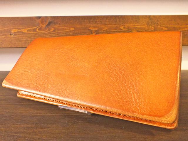 【送料無料】Dirty Leather Down Town Leather Works Leather Long Wallet キャメル#2 栃木レザー