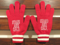 STANDARD CALIFORNIA LOGO GLOVE RED 「メール便OK」