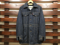 【送料無料】別注 70's DENIM BUSH COAT INDIGO ONE WASH