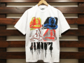 JIMMY'Z × STANDARD CALIFORNIA SPRAY LOGO T-SHIRT WHITE 「メール便OK」