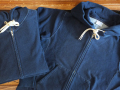【送料無料】Champion REVERSE WEAVE ZIP HOODED SWEATSHIRT INDIGO