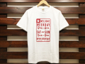 NEW BOHEMIA SIGNS FOR STANDARD CALIFORNIA T-SHIRT WHITE 「メール便OK」