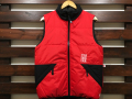 【送料無料】STANDARD CALIFORNIA PUFF VEST RED