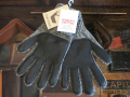 NEWBERRY KNITTING DEERSKIN×WOOL GLOVE GRAY ※レディースサイズ有