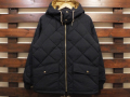 【送料無料】STANDARD CALIFORNIA CLASSIC QUILTED DOWN JACKET BLACK