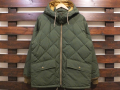 【送料無料】STANDARD CALIFORNIA CLASSIC QUILTED DOWN JACKET OLIVE
