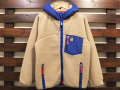 【送料無料】STANDARD CALIFORNIA HEAVY CLASSIC PILE JACKET BEIGE/BLUE
