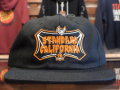 STANDARD CALIFORNIA TRICK OR TREAT SHIELD LOGO TWILL CAP BLACK