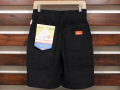 COOKMAN LOS ANGELES CALIFORNIA CHEF SHORT PANTS CORDUROY BLACK