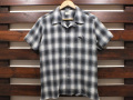 【送料無料】The Endless Summer TES CALIFORNIA SMOKE CHECK OPEN S/S SHIRT BLACK