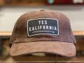 The Endless Summer TES CALIFORNIA LOCAL CREW CORDUROY CAP BROWN