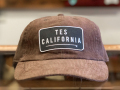 The Endless Summer TES CALIFORNIA LOCAL CREW CORDUROY CAP BROWN
