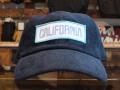 "CALIFOLKS CORDUROY CAP ""CALIFORNIA"" NAVY"