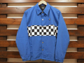 【送料無料】VANS APPAREL CHECKER COACH JACKET ROYAL