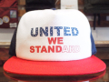 STANDARD CALIFORNIA 4th of July UNITED WE STANDARD TWILL MESH CAP TRICOLOR