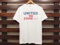 STANDARD CALIFORNIA 4th of July UNITED WE STANDARD POCKET T-SHIRT WHITE 「メール便OK」