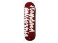 【送料無料】CHOCOLATE SKATEBOARDS × STANDARD CALIFORNIA CHUNK LOGO SKATE DECK BURGUNDY