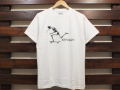 ANOTHER HEAVEN × STANDARD CALIFORNIA STAY STOKED SKATE T-SHIRT WHITE 「メール便OK」