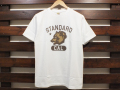 STANDARD CALIFORNIA CAL BEAR COLLEGE LOGO T-SHIRT WHITE 「メール便OK」