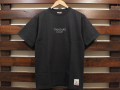 STANDARD CALIFORNIA HEAVYWEIGHT T-SHIRT WITH LOGO BLACK