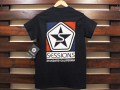 SESSIONS × STANDARD CALIFORNIA LOGO T-SHIRT BLACK 「メール便OK」