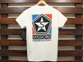 SESSIONS × STANDARD CALIFORNIA LOGO T-SHIRT WHITE 「メール便OK」