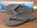 RAINBOW SANDALS SINGLE LAYER PREMIER LEATHER BLACK