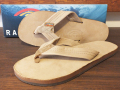 RAINBOW SANDALS SINGLE LAYER PREMIER LEATHER SIERRA BROWN
