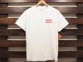 CHOCOLATE SKATEBOARDS × STANDARD CALIFORNIA CHUNK LOGO T-SHIRT WHITE 「メール便OK」