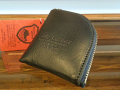 【送料無料】Dirty Leather Down Town Leather Works Leather Coin Case ブラック 栃木レザー