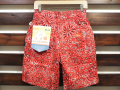COOKMAN LOS ANGELES CALIFORNIA CHEF SHORT PANTS PAISLEY RED