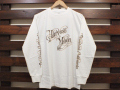 STANDARD CALIFORNIA HARVEST MOON LONG SLEEVE T-SHIRT WHITE 「メール便OK」