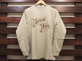 STANDARD CALIFORNIA HARVEST MOON LONG SLEEVE T-SHIRT BEIGE 「メール便OK」