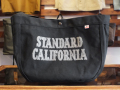 【送料無料】STANDARD CALIFORNIA MADE IN USA NEWS PAPER BAG BLACK