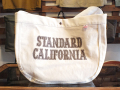 【送料無料】STANDARD CALIFORNIA MADE IN USA NEWS PAPER BAG NATURAL