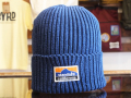 STANDARD CALIFORNIA TECH DRY RIB WATCH CAP BLUE 「メール便OK」