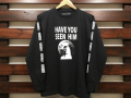ANOTHER HEAVEN × STANDARD CALIFORNIA HAVE YOU SEEN HIM LONG SLEEVE T-SHIRT BLACK 「メール便OK」