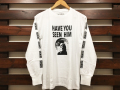 ANOTHER HEAVEN × STANDARD CALIFORNIA HAVE YOU SEEN HIM LONG SLEEVE T-SHIRT WHITE 「メール便OK」