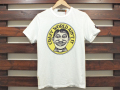 Johnson Motors, Inc. ジョンソンモータース PRINT T-SHIRT COOLHOUS STUDIOS BY JOHNSON MOTORS Inc. JOHNNY FACE OPTIC WHITE 「メール便OK」