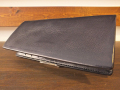 【送料無料】Dirty Leather Down Town Leather Works Leather Long Wallet ブラック 栃木レザー