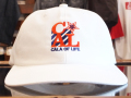 STANDARD CALIFORNIA CALA OF LIFE BASEBALL CAP WHITE