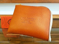 【送料無料】Dirty Leather Down Town Leather Works Leather Double Zip Wallet キャメル 栃木レザー
