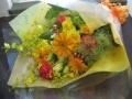 【花束・ブーケ】 華やか~イエローオレンジ花束~●送料無料(税込)●