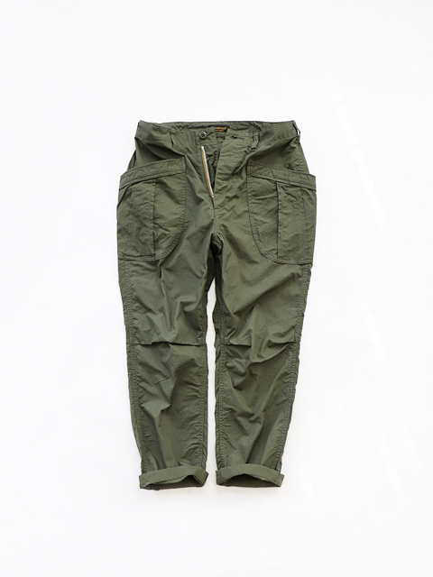 A VONTADE (ア ボンタージ) Fatigue Trousers - Ripstop/Olive