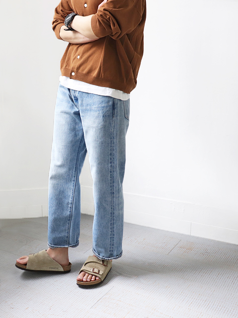 ≪Special Order≫ A VONTADE (ア ボンタージ) 5Pocket Jeans - USED WASHED (ユーズド)