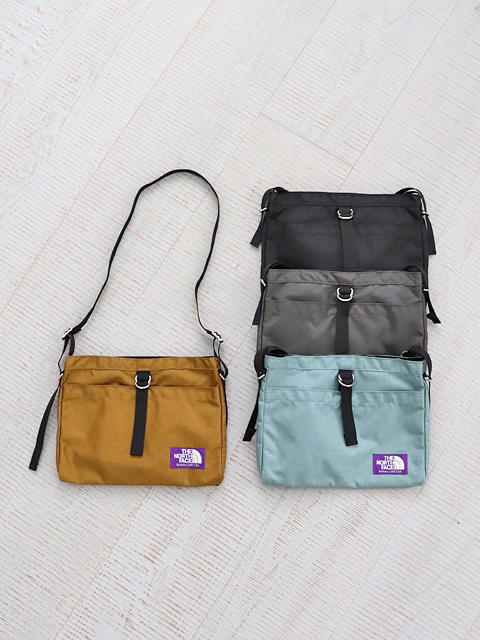 THE NORTH FACE PURPLE LABEL (ザ ノースフェイス パープルレーベル) Small Shoulder Bag - NYLON OX (スモールショルダーバッグ)