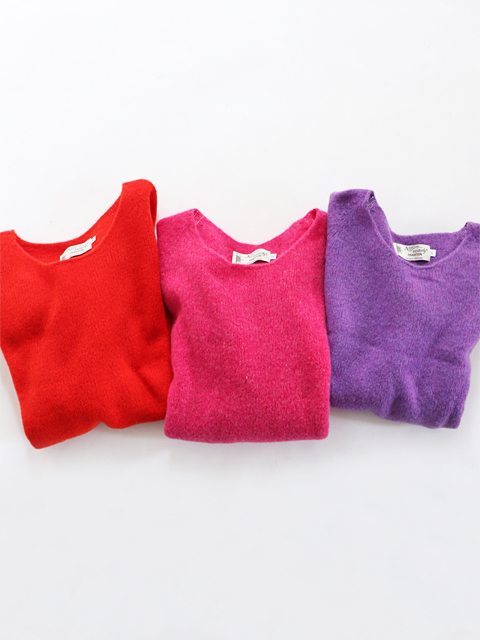 ≪Special Order≫ Nor' Easterly (ノアイースターリー) L/S WIDE NECK (ワイドネックセーター)